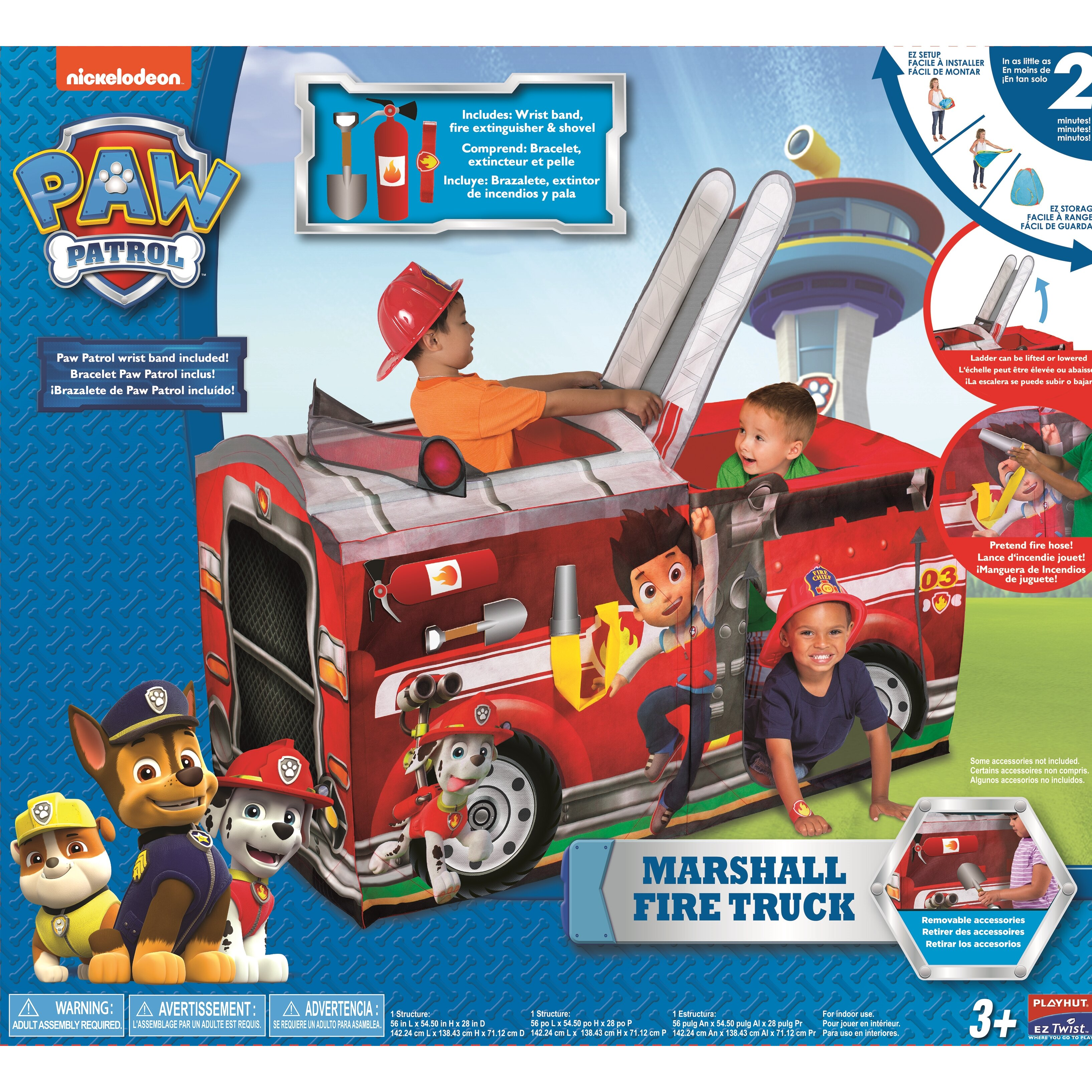 Playhut Paw Patrol Marshall Fire Truck Play Tent Amp Reviews
