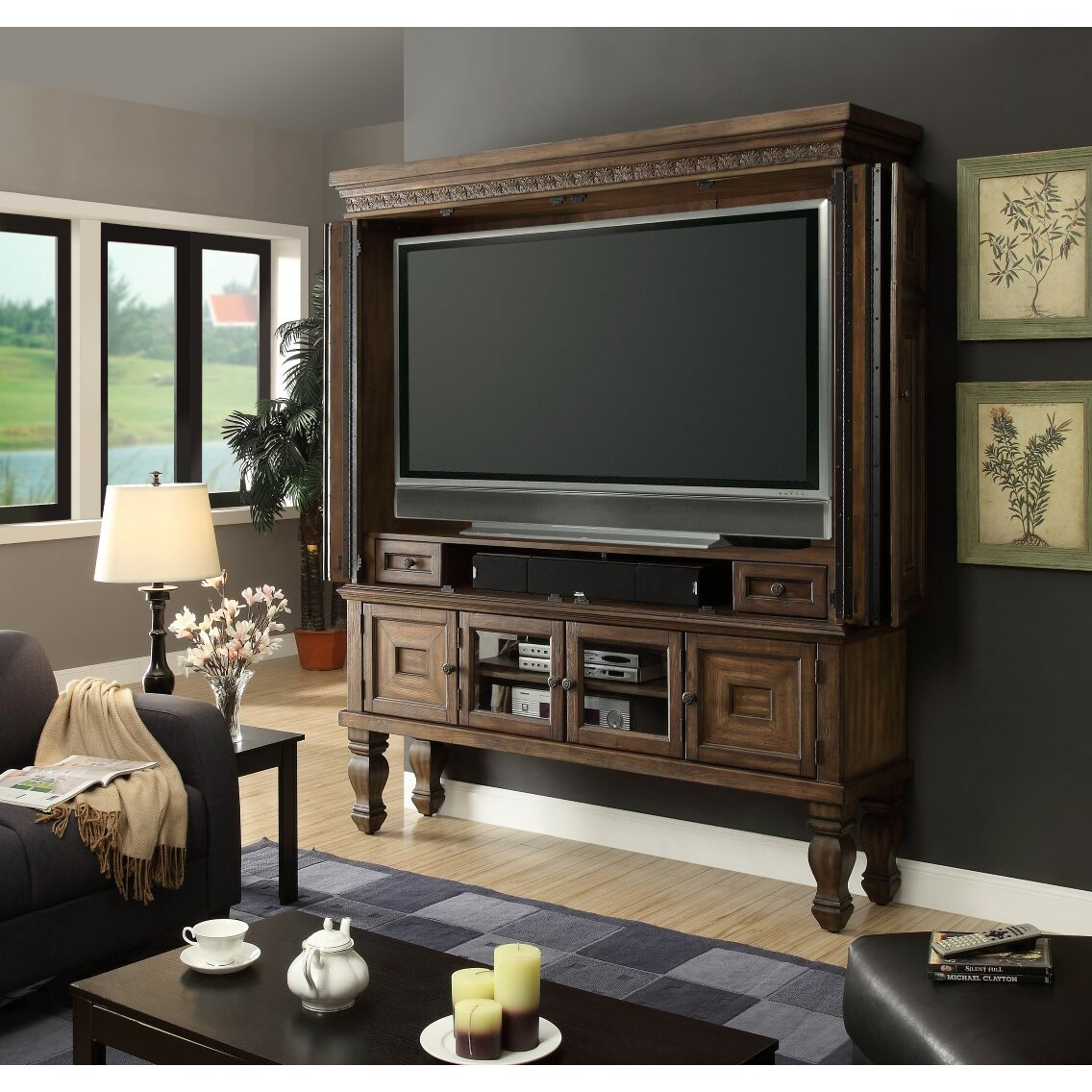 Parker House Aria Entertainment Center Amp Reviews Wayfair