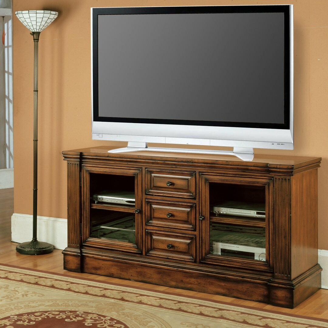 parker house genoa tv stand wayfair. Black Bedroom Furniture Sets. Home Design Ideas