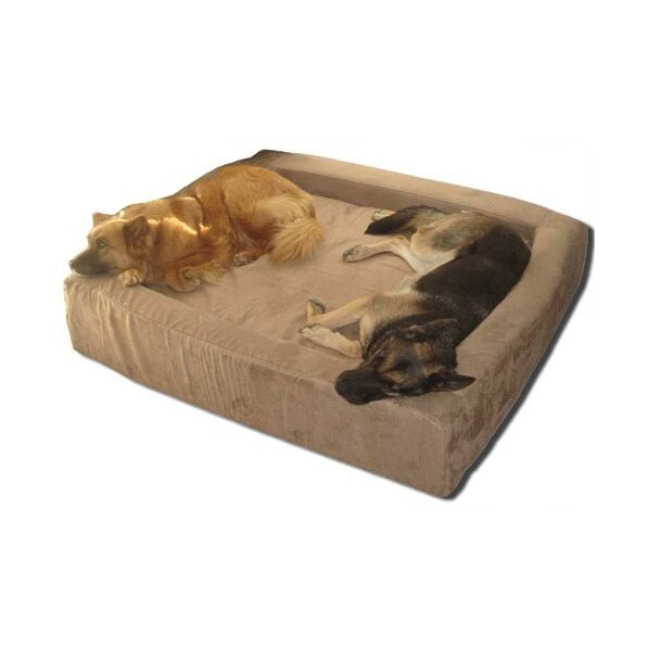 maxcomfort comfort nest memory foam bolster dog bed. Black Bedroom Furniture Sets. Home Design Ideas