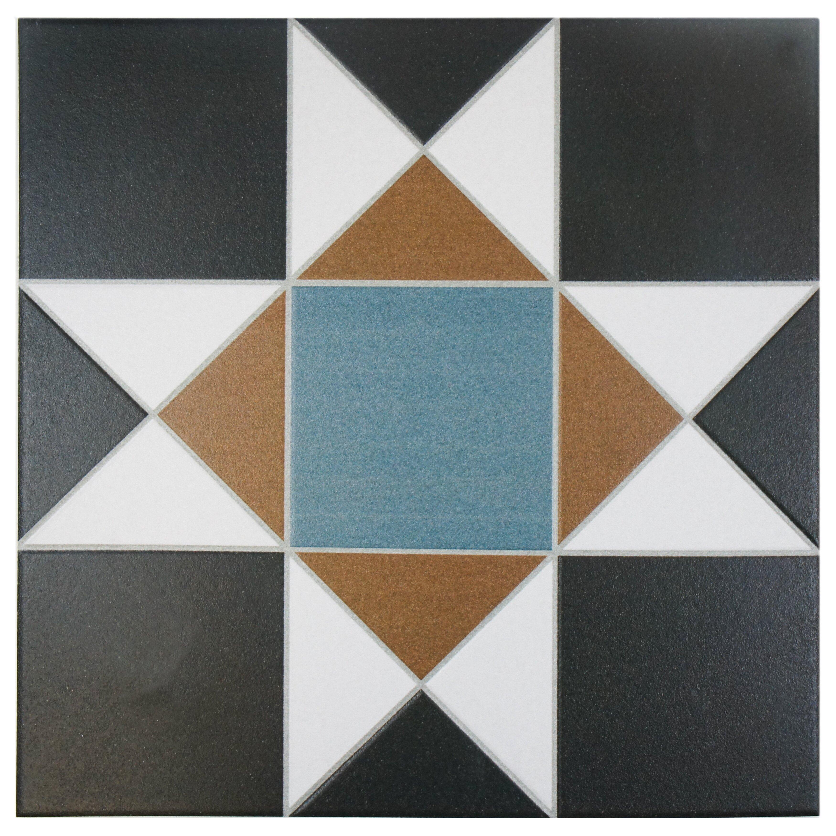 Elitetile narcisso nouveau 13 x 13 porcelain field tile for 13 inch ceramic floor tile