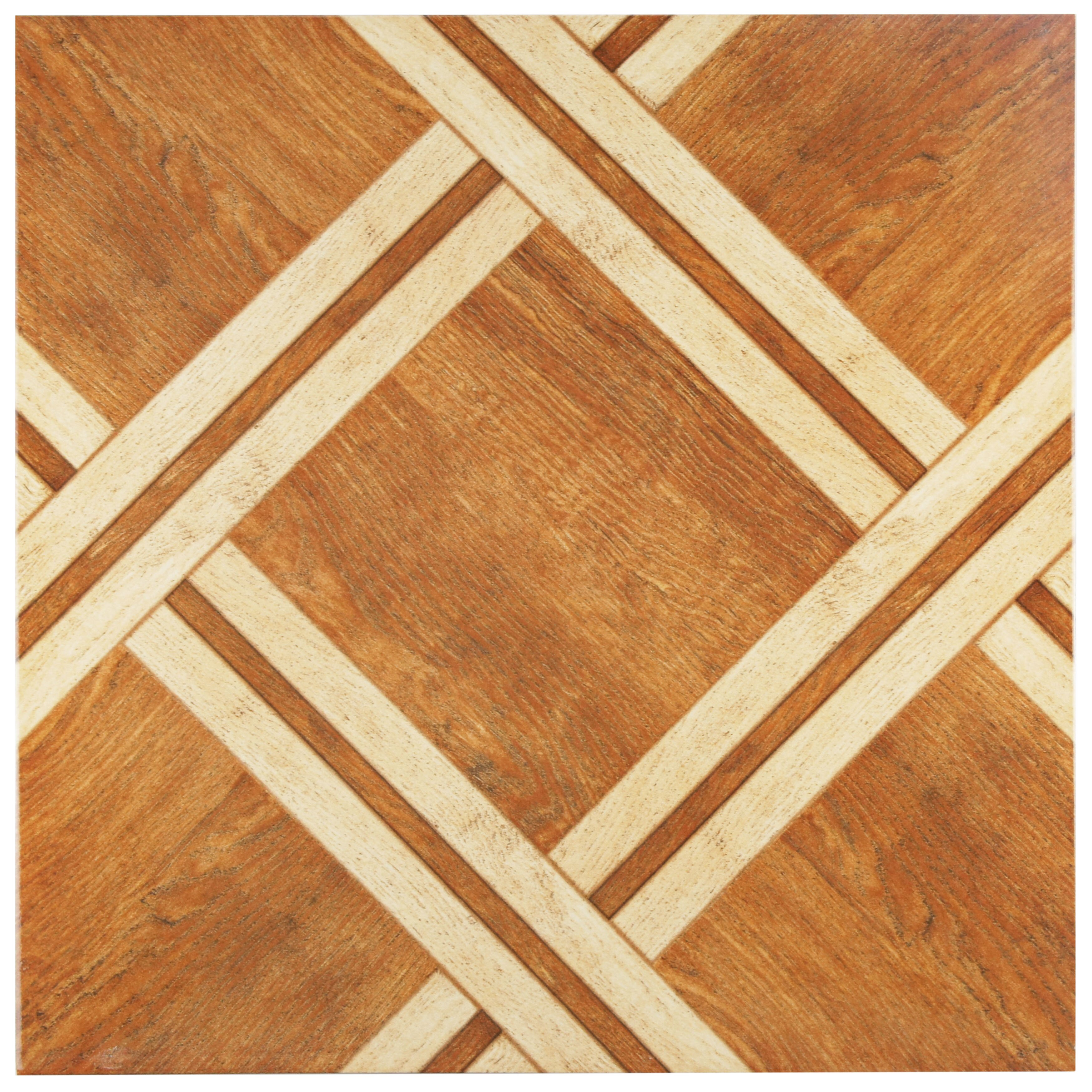 elitetile anchorage x ceramic wood look tile in caramelo reviews wayfair. Black Bedroom Furniture Sets. Home Design Ideas
