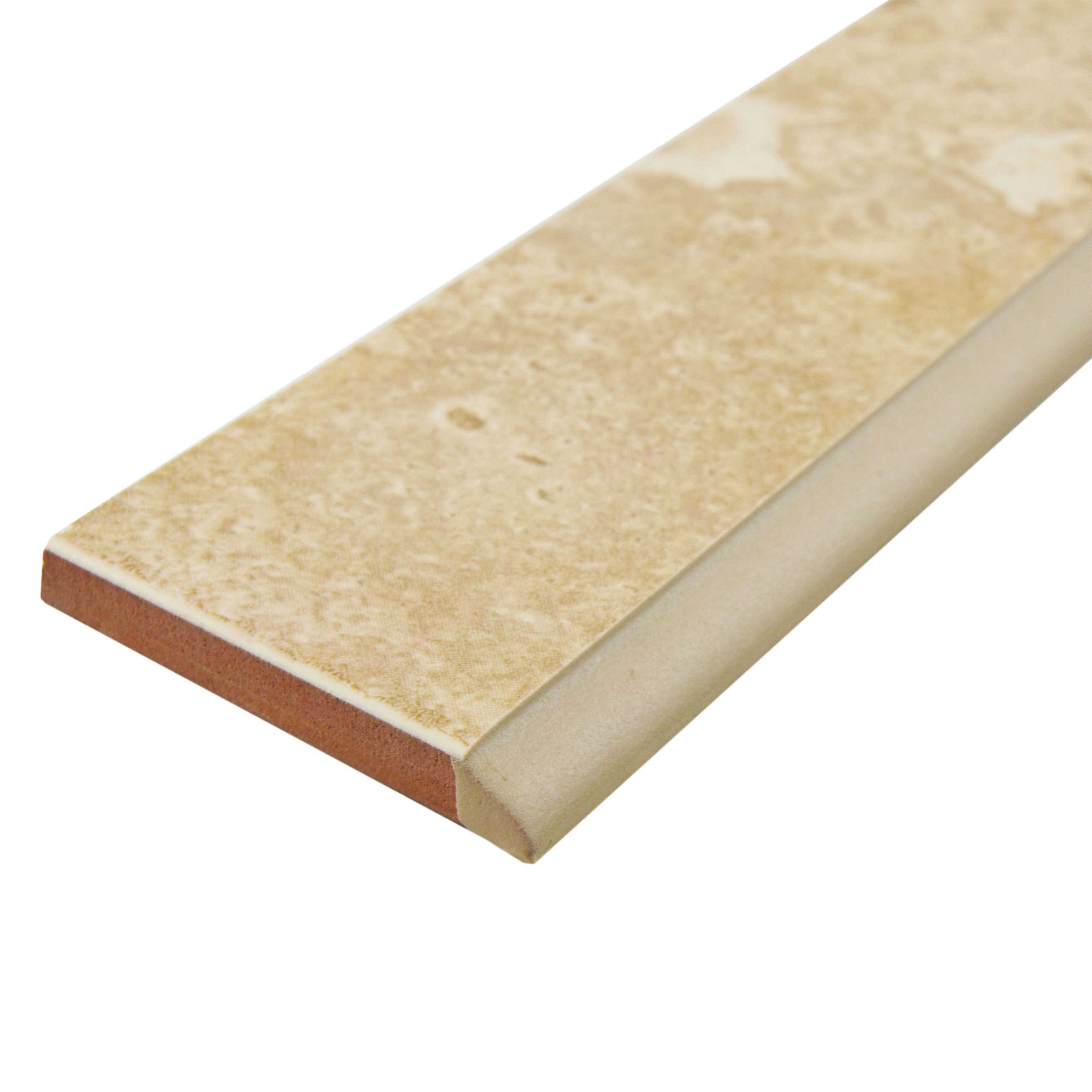 Top 28 Bullnose Trim Tile Shower Curb Bullnosed On