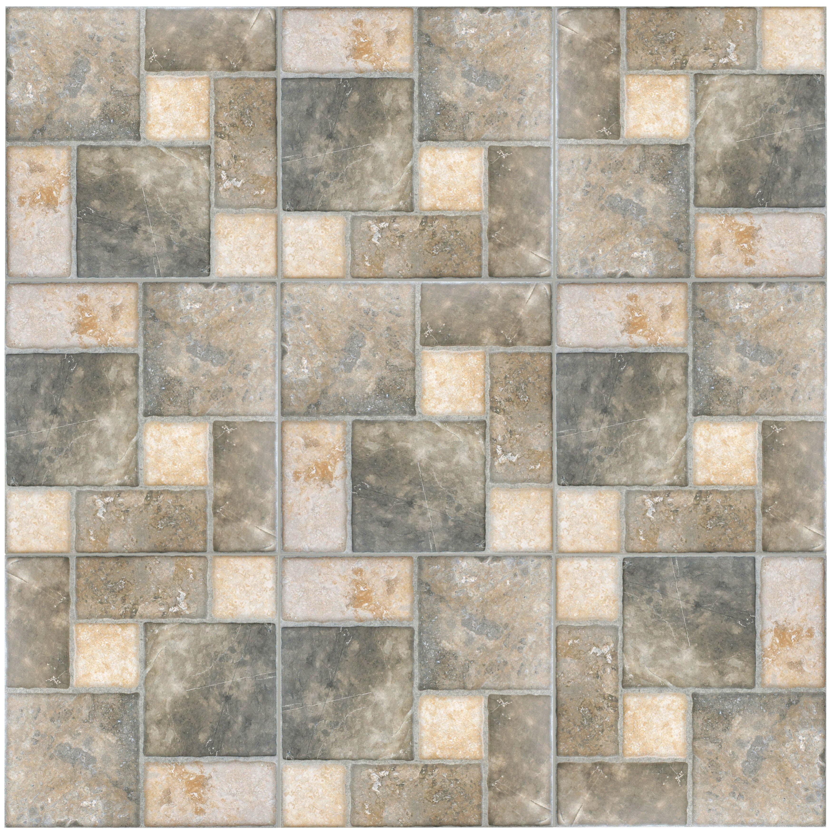 Elitetile Catalan 17 75 Quot X 17 75 Quot Ceramic Floor And Wall