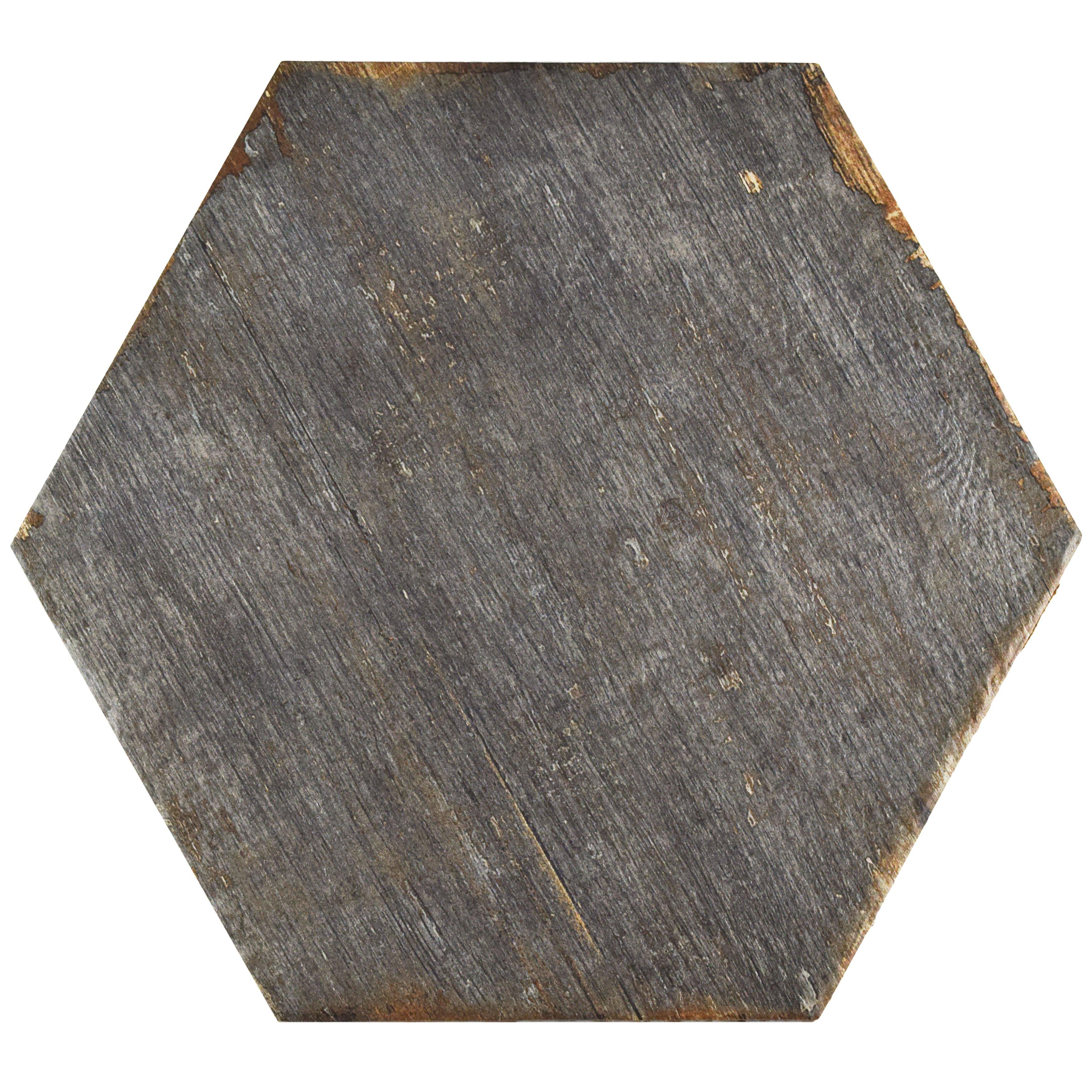 elitetile rama x hex porcelain floor and. Black Bedroom Furniture Sets. Home Design Ideas