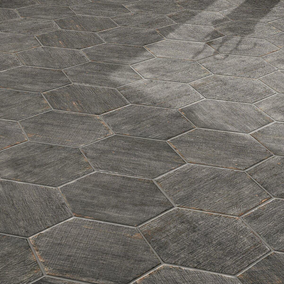 Elitetile rama x hex porcelain floor and for 16 floor tile