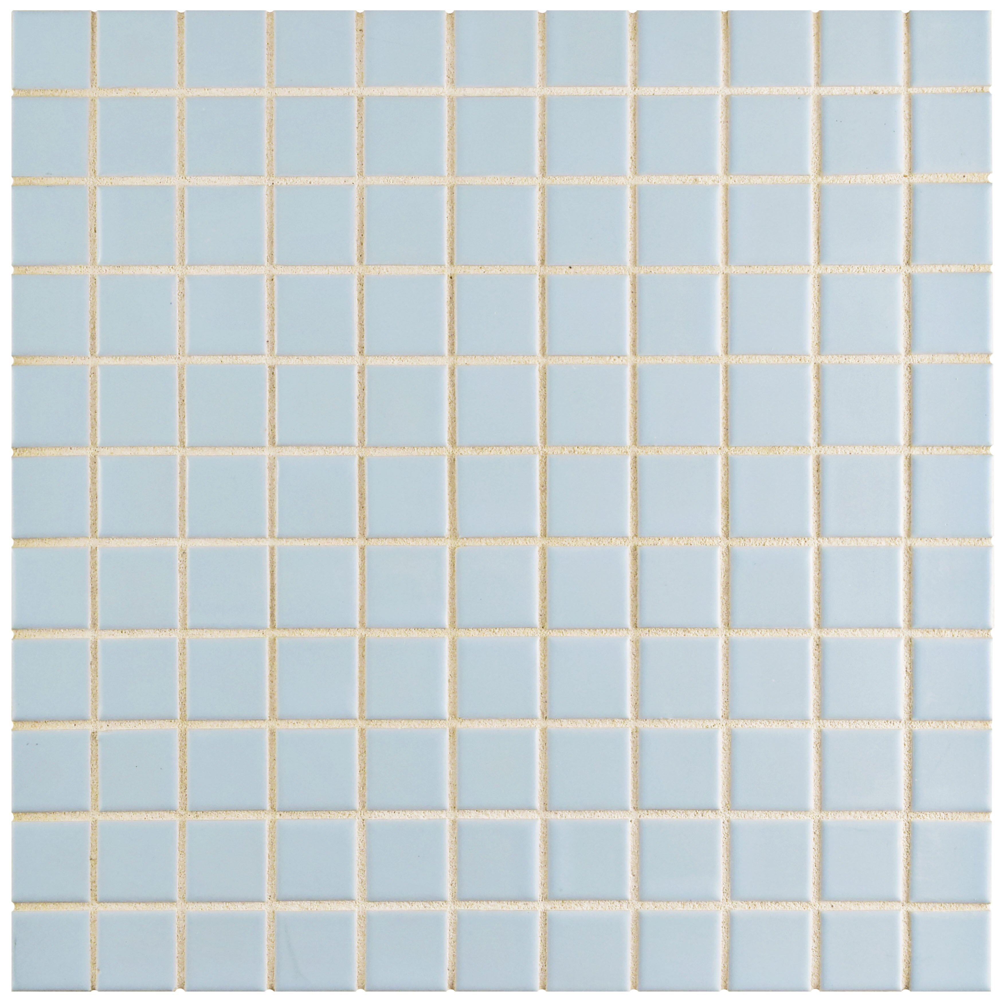 "EliteTile Retro 1"" x 1"" Porcelain Mosaic Tile in Matte ..."
