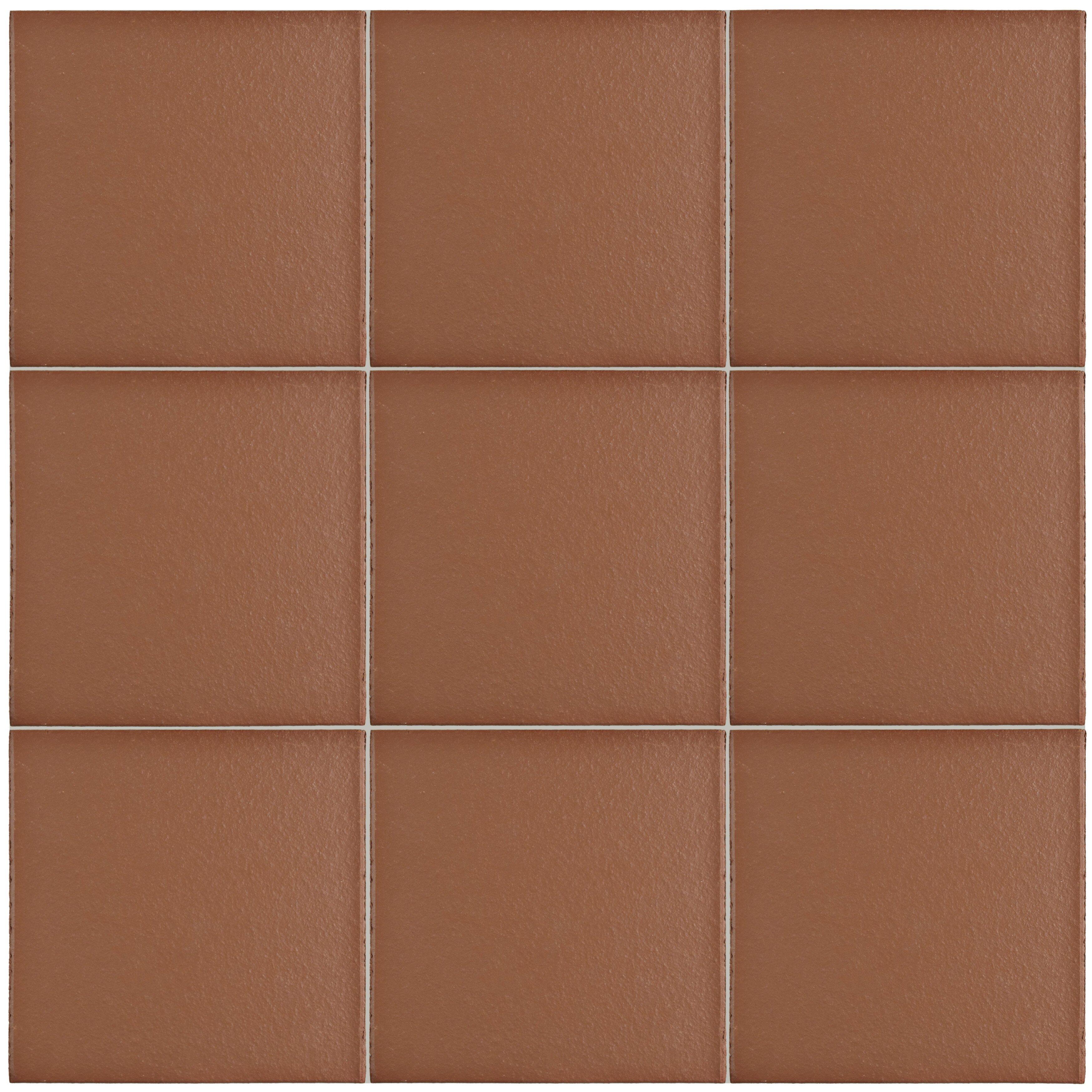 Elitetile Shale X Ceramic Field Tile In Red Wayfair Supply