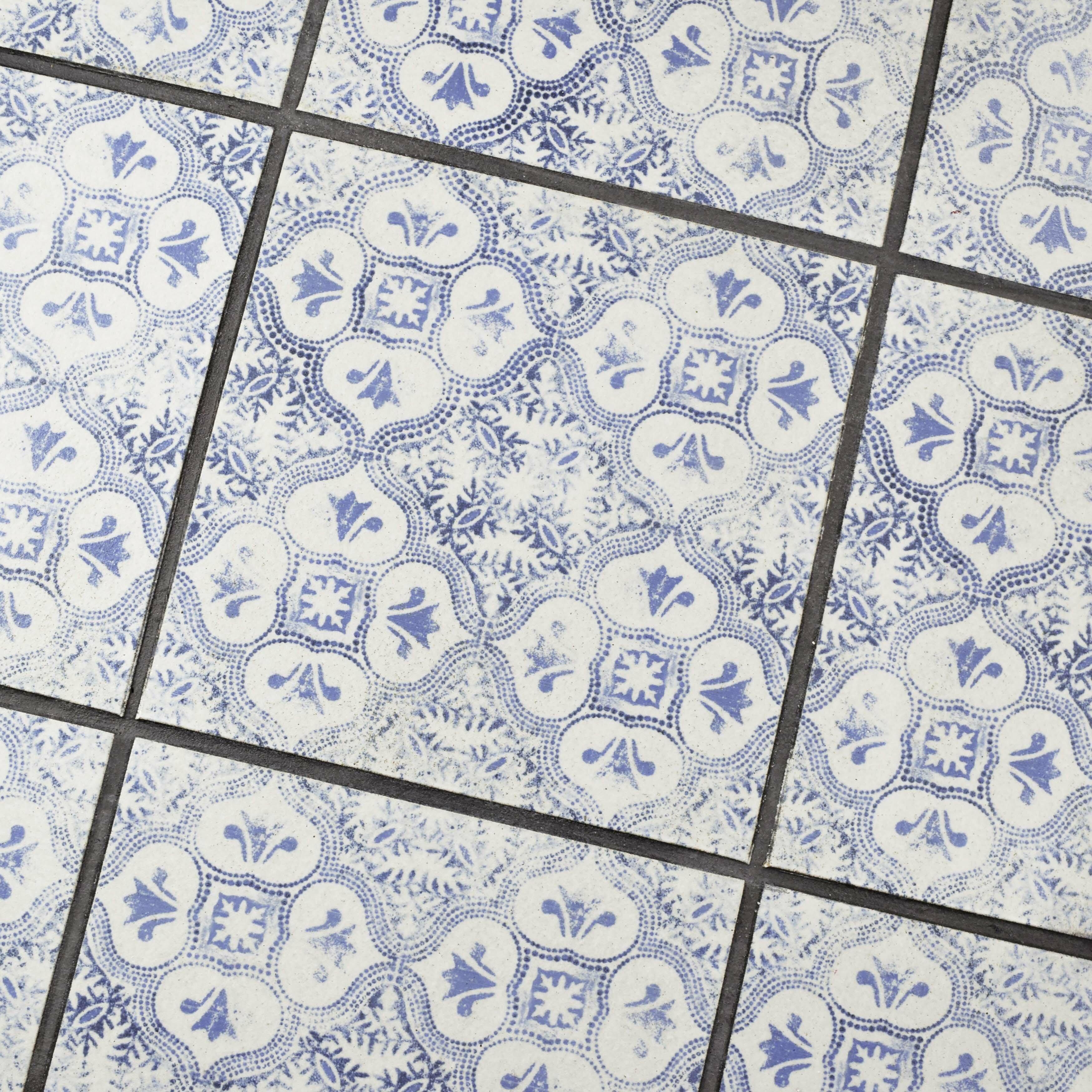 Elitetile shale x ceramic field tile in for 12 x 12 blue ceramic floor tile