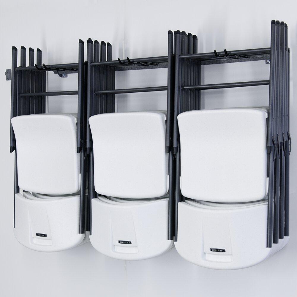 Monkey Bar 12 Folding Chair Rack & Reviews
