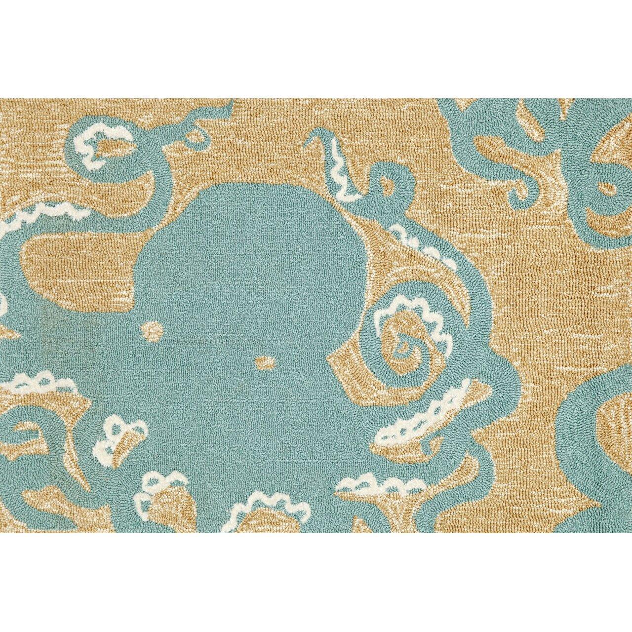 Transocean Dog Rug: Liora Manne Frontporch Octopus Area Rug & Reviews