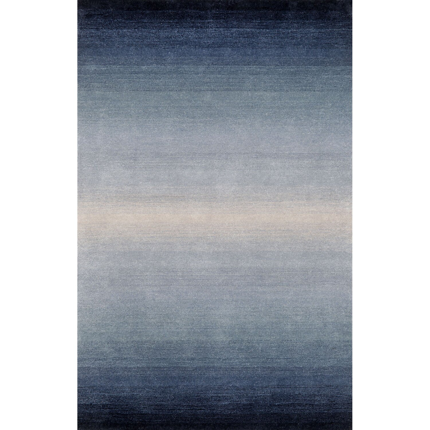 Liora Manne Ombre Blue Denim Horizon Area Rug Amp Reviews