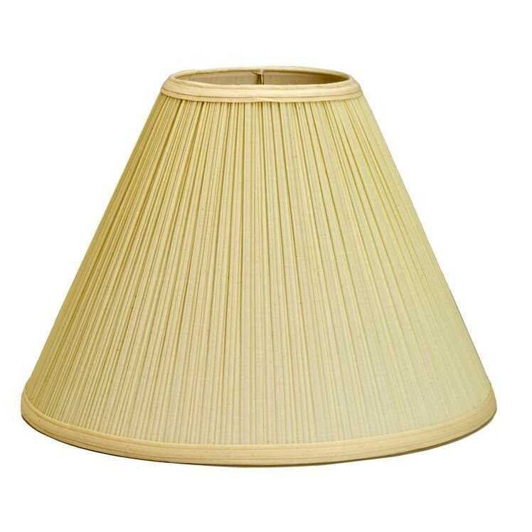 Deran Lamp Shades 18 Mushroom Pleat Empire Lamp Shade