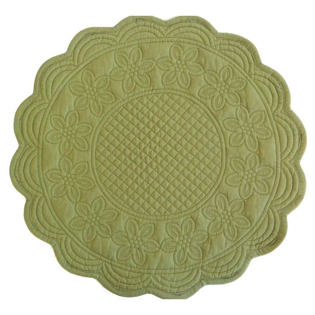 couleur nature sonia reversible celedon placemat reviews. Black Bedroom Furniture Sets. Home Design Ideas