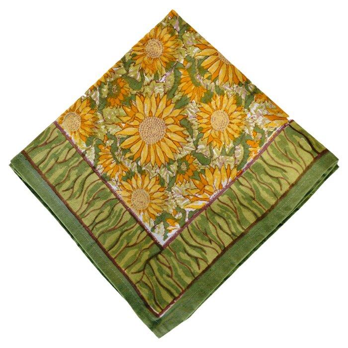 couleur nature sunflower napkin reviews wayfair. Black Bedroom Furniture Sets. Home Design Ideas