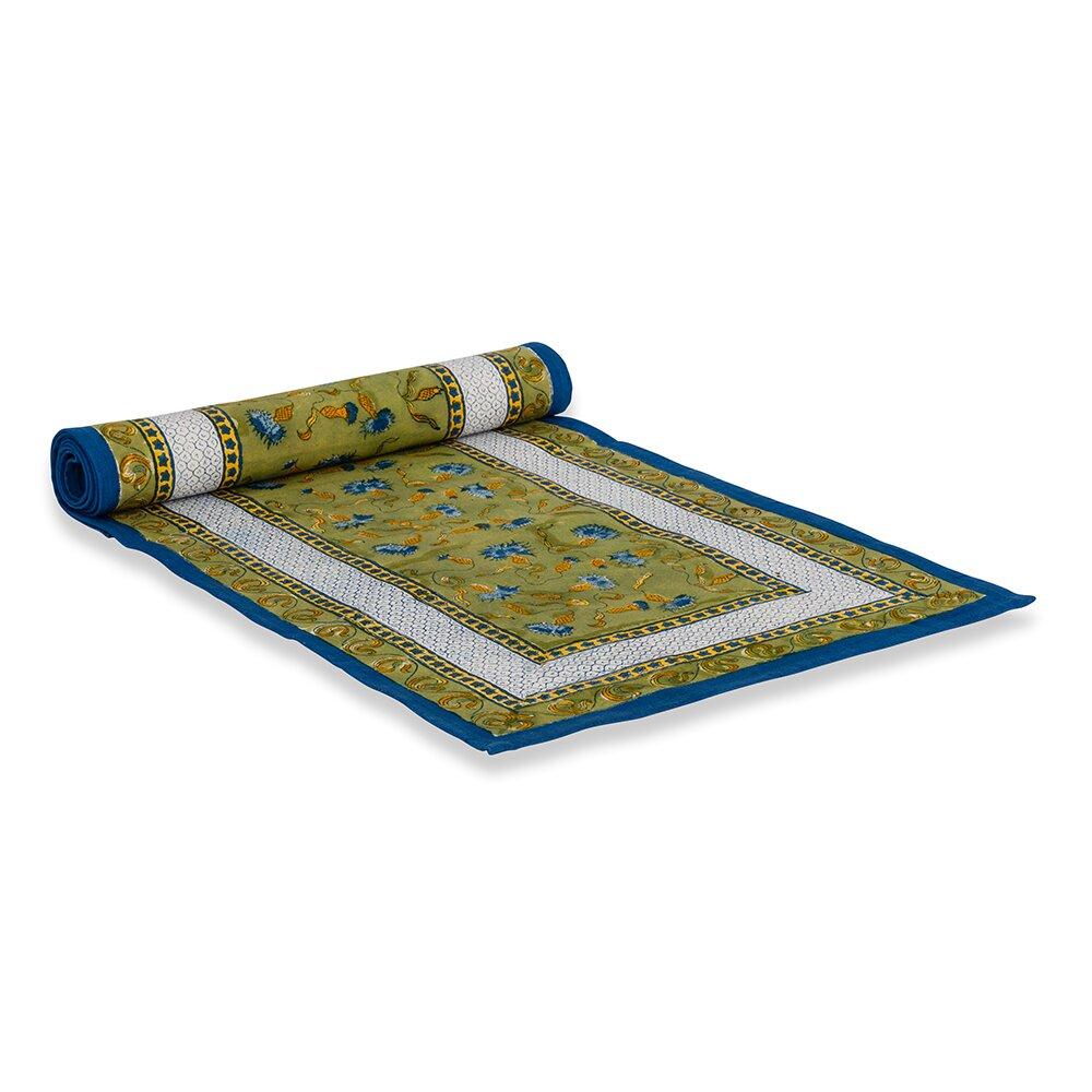 couleur nature bleuet table runner reviews wayfair. Black Bedroom Furniture Sets. Home Design Ideas