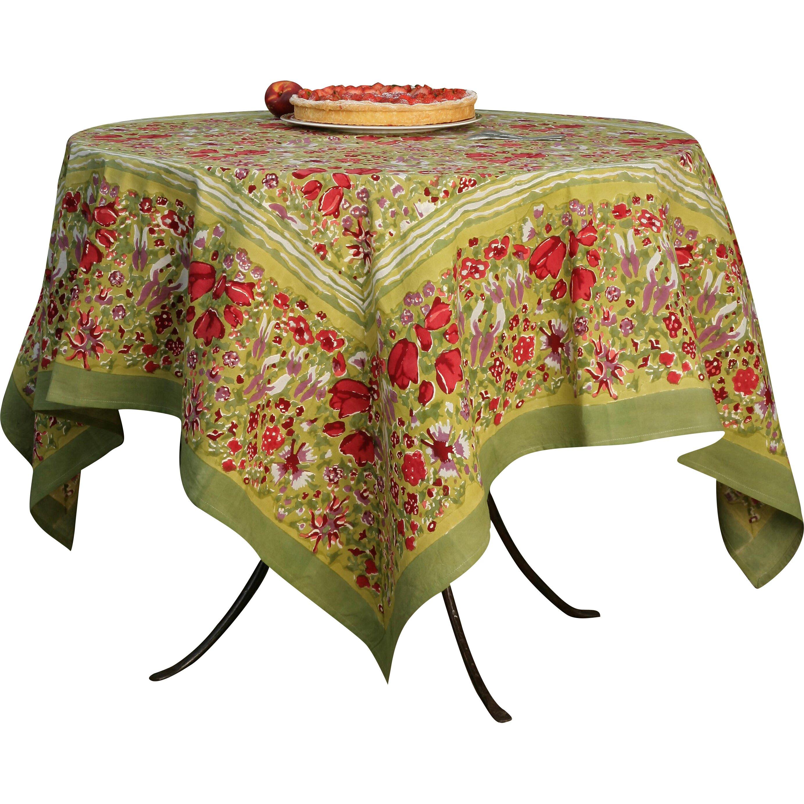 couleur nature jardine tablecloth reviews wayfair. Black Bedroom Furniture Sets. Home Design Ideas