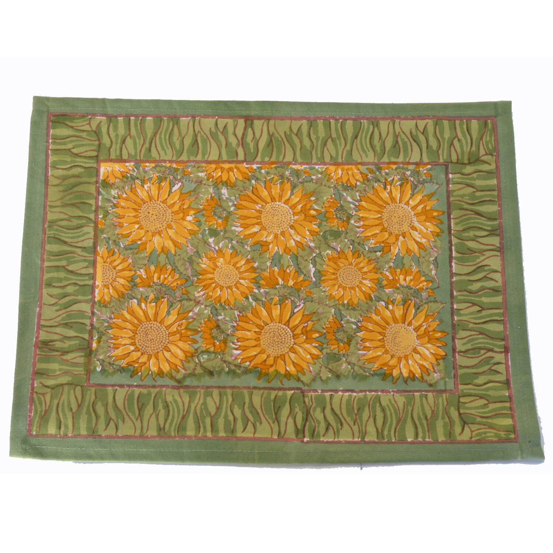 couleur nature sunflower placemat reviews wayfair. Black Bedroom Furniture Sets. Home Design Ideas