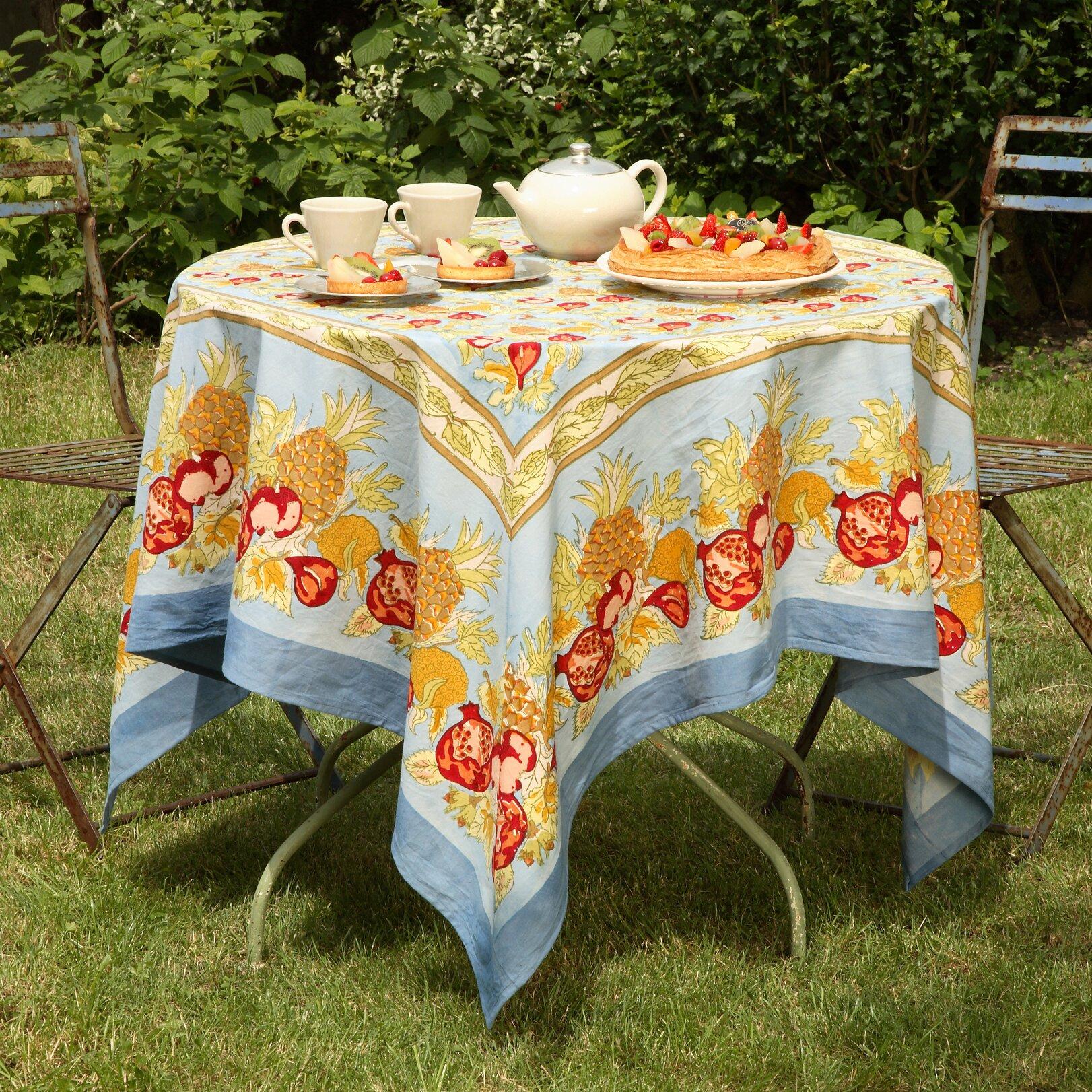 couleur nature tutti frutti tablecloth wayfair. Black Bedroom Furniture Sets. Home Design Ideas