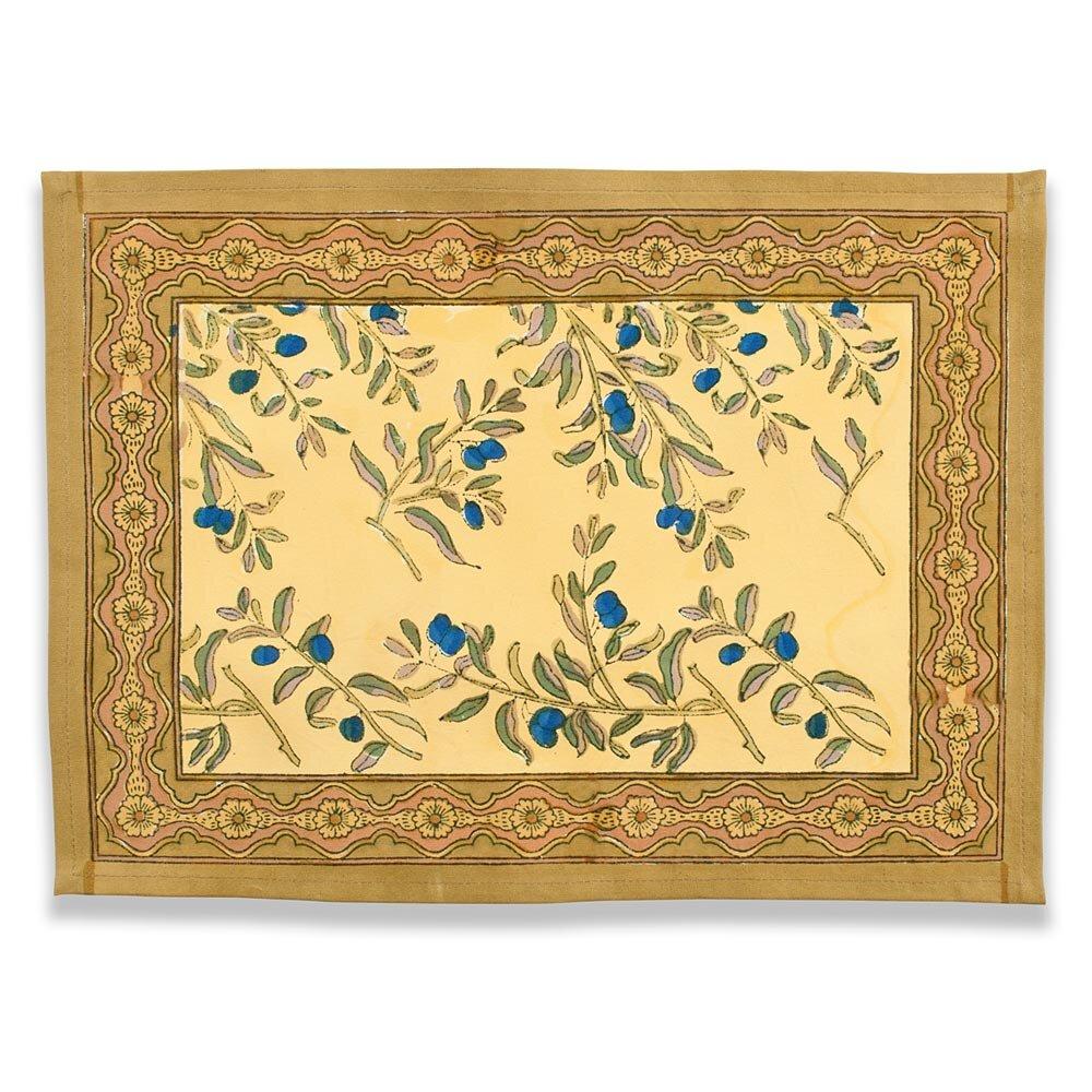 couleur nature olive tree placemat reviews wayfair. Black Bedroom Furniture Sets. Home Design Ideas