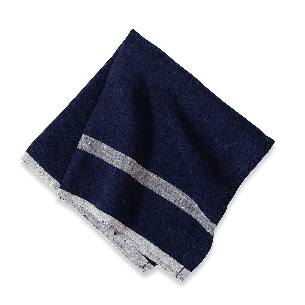 couleur nature laundered linen stripe napkin reviews. Black Bedroom Furniture Sets. Home Design Ideas