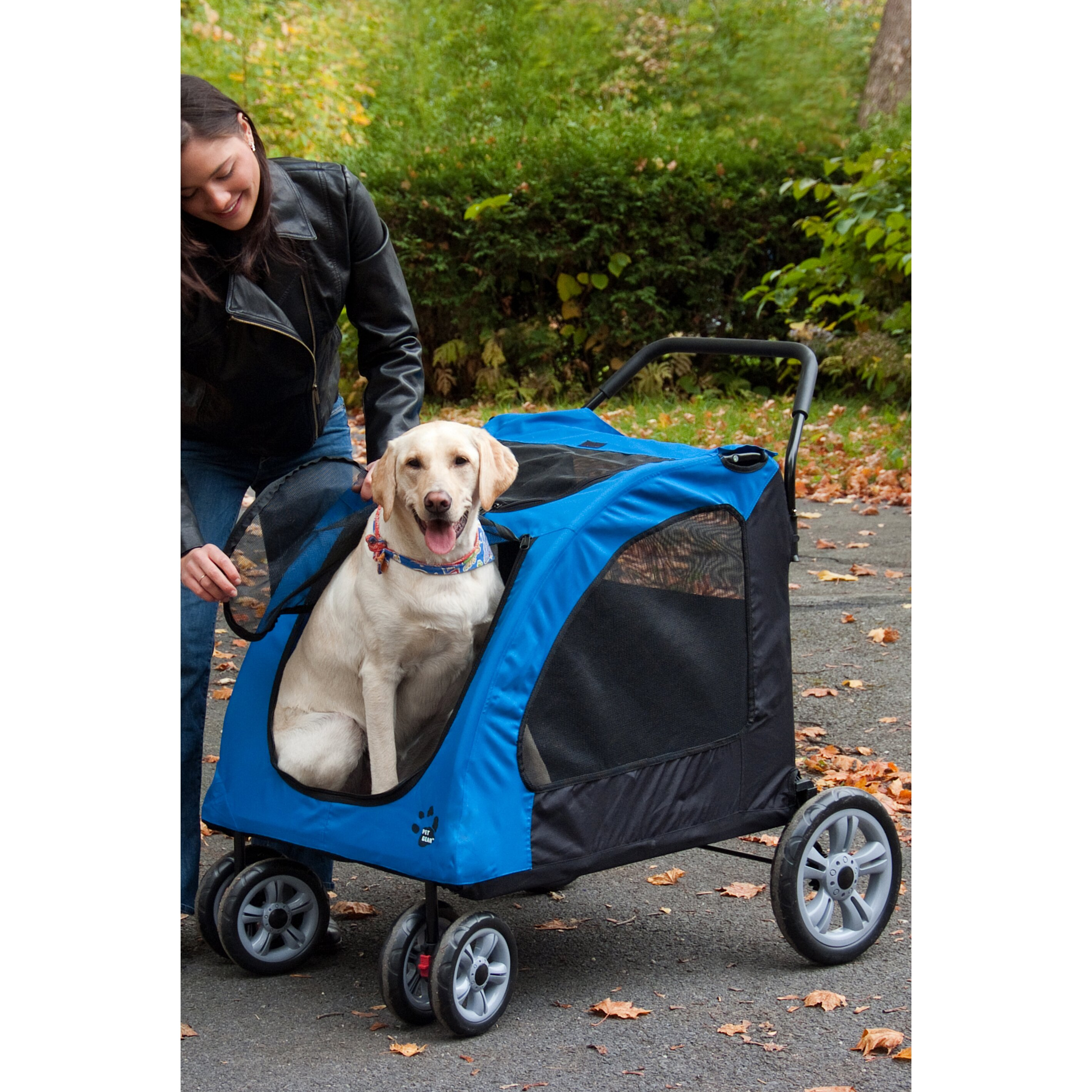 Pet Gear Expedition Standard Pet Stroller Amp Reviews Wayfair