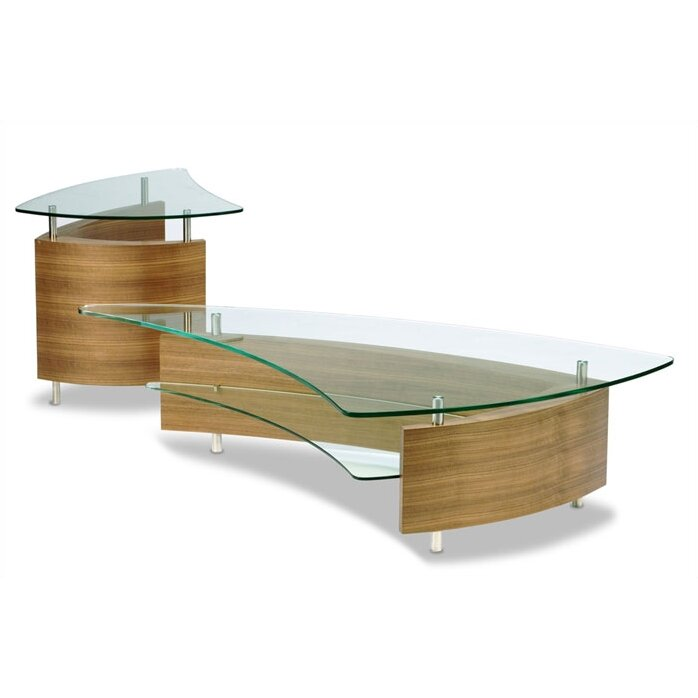 Bdi Usa Fin Coffee Table Set Reviews Wayfair