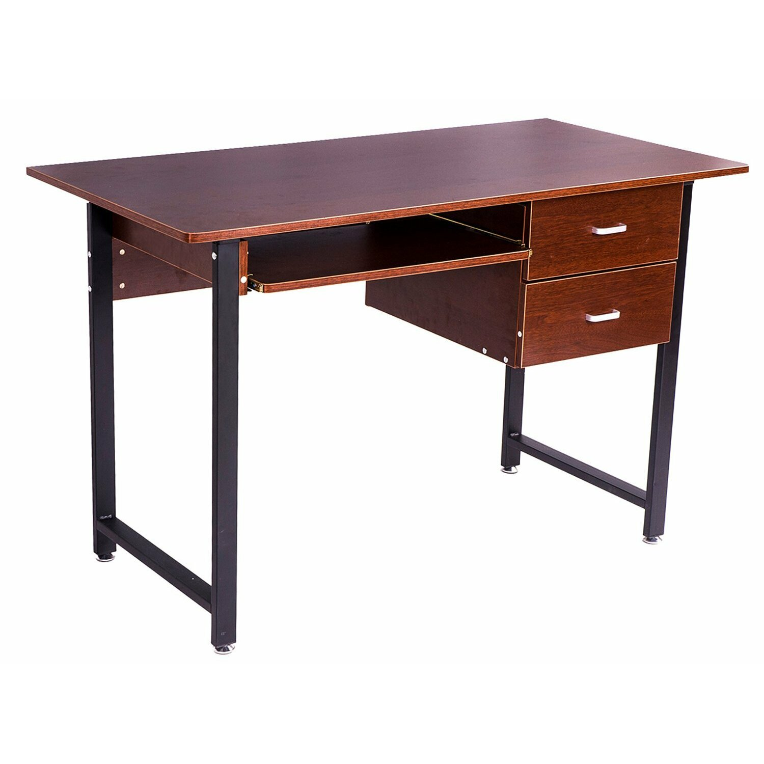 Merax Computer Workstation Office Desk With Drawers