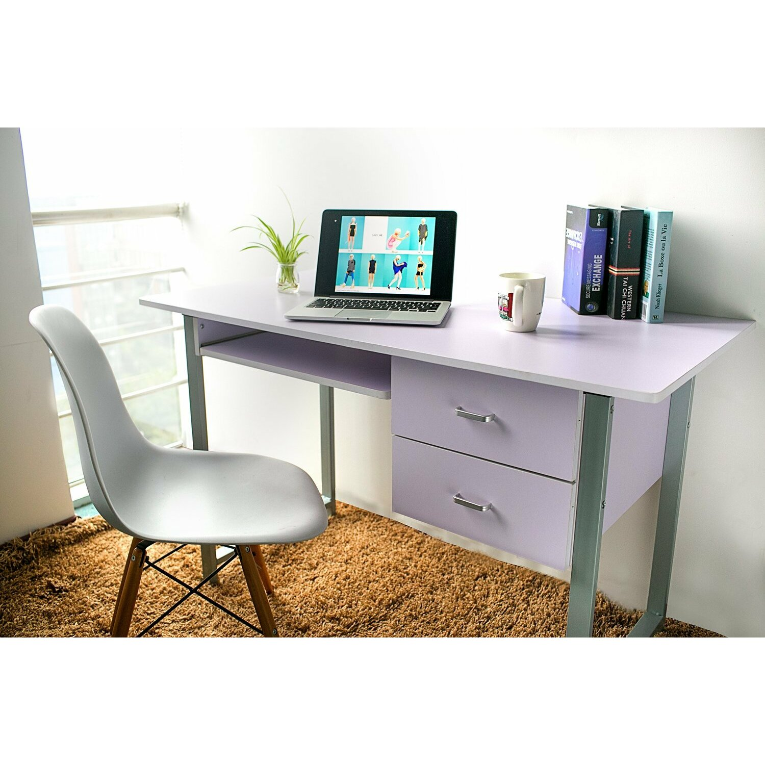 Desk With Drawers Home Office Furniture. Center Drawer Office Desk