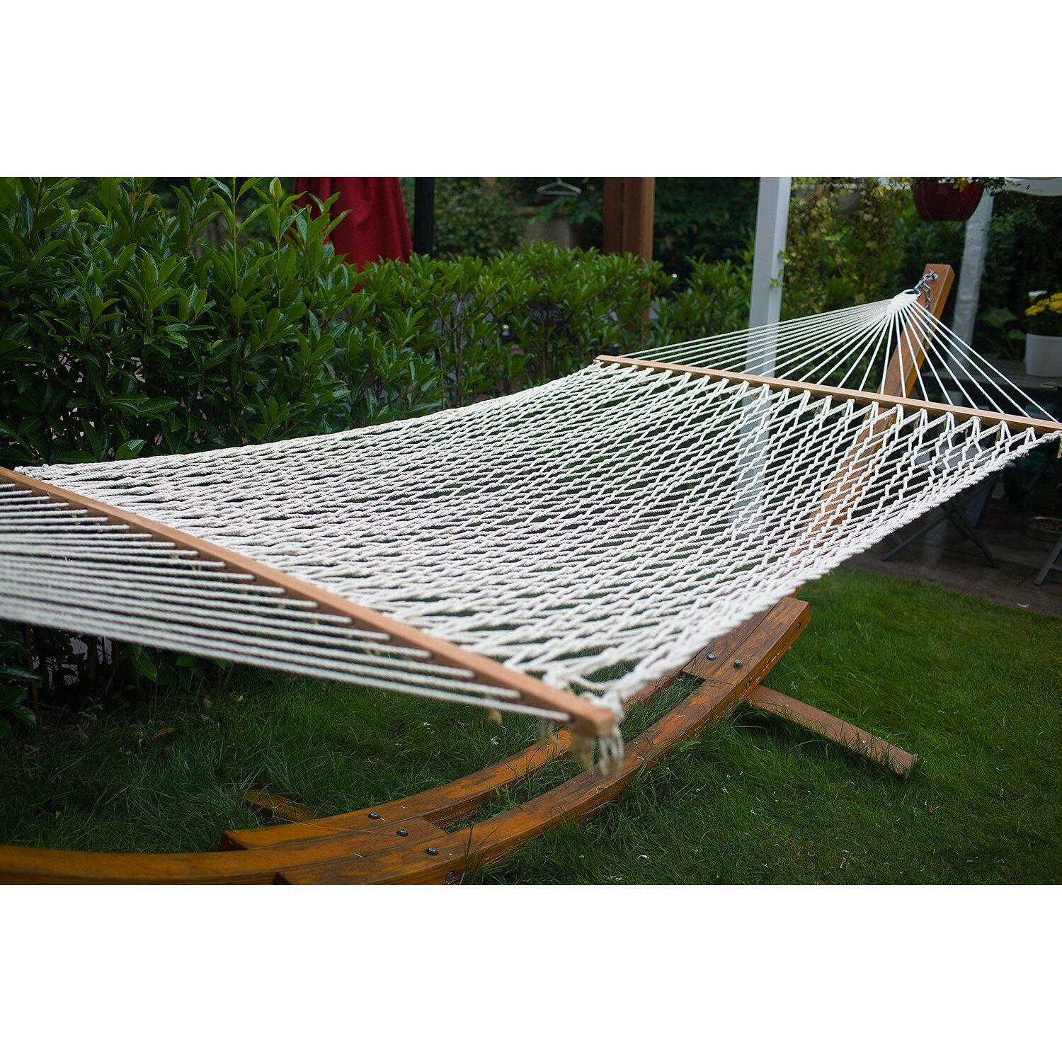 Backyard Hammock Reviews : Outdoor Patio Furniture  Tree Hammocks Merax SKU MQX1145