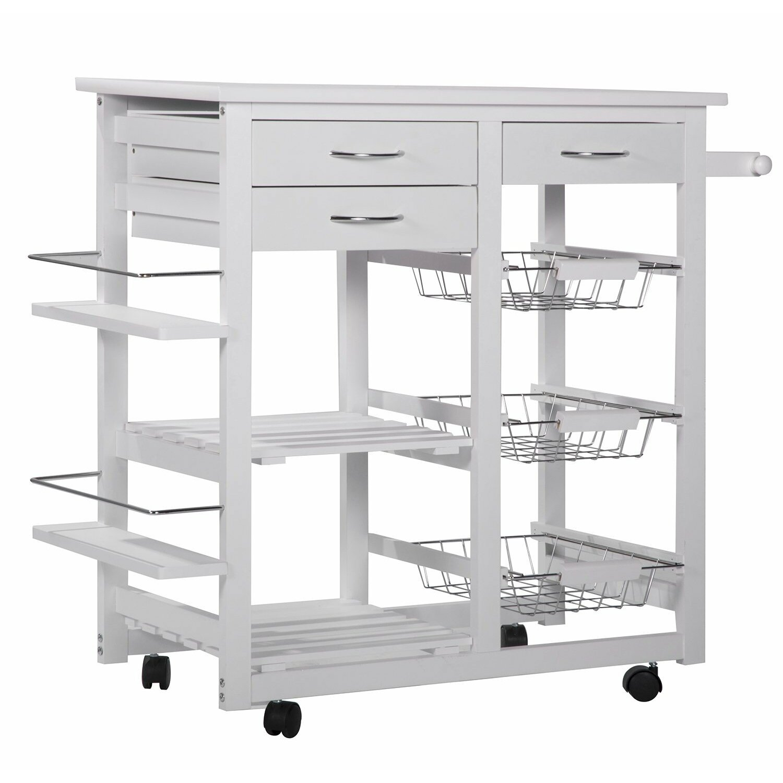 merax kitchen cart reviews wayfair. Black Bedroom Furniture Sets. Home Design Ideas