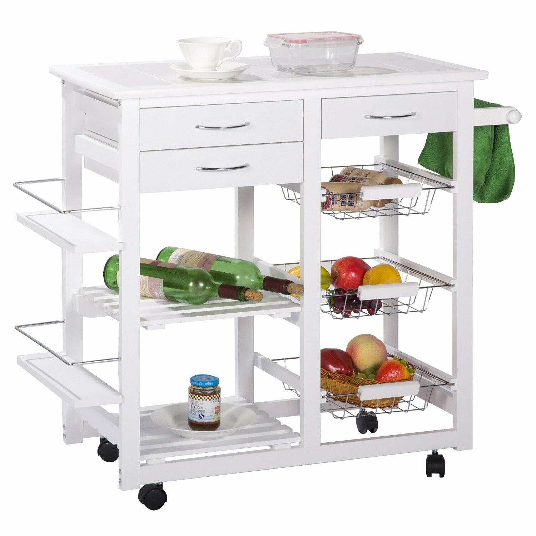 Merax Kitchen Cart Reviews Wayfair