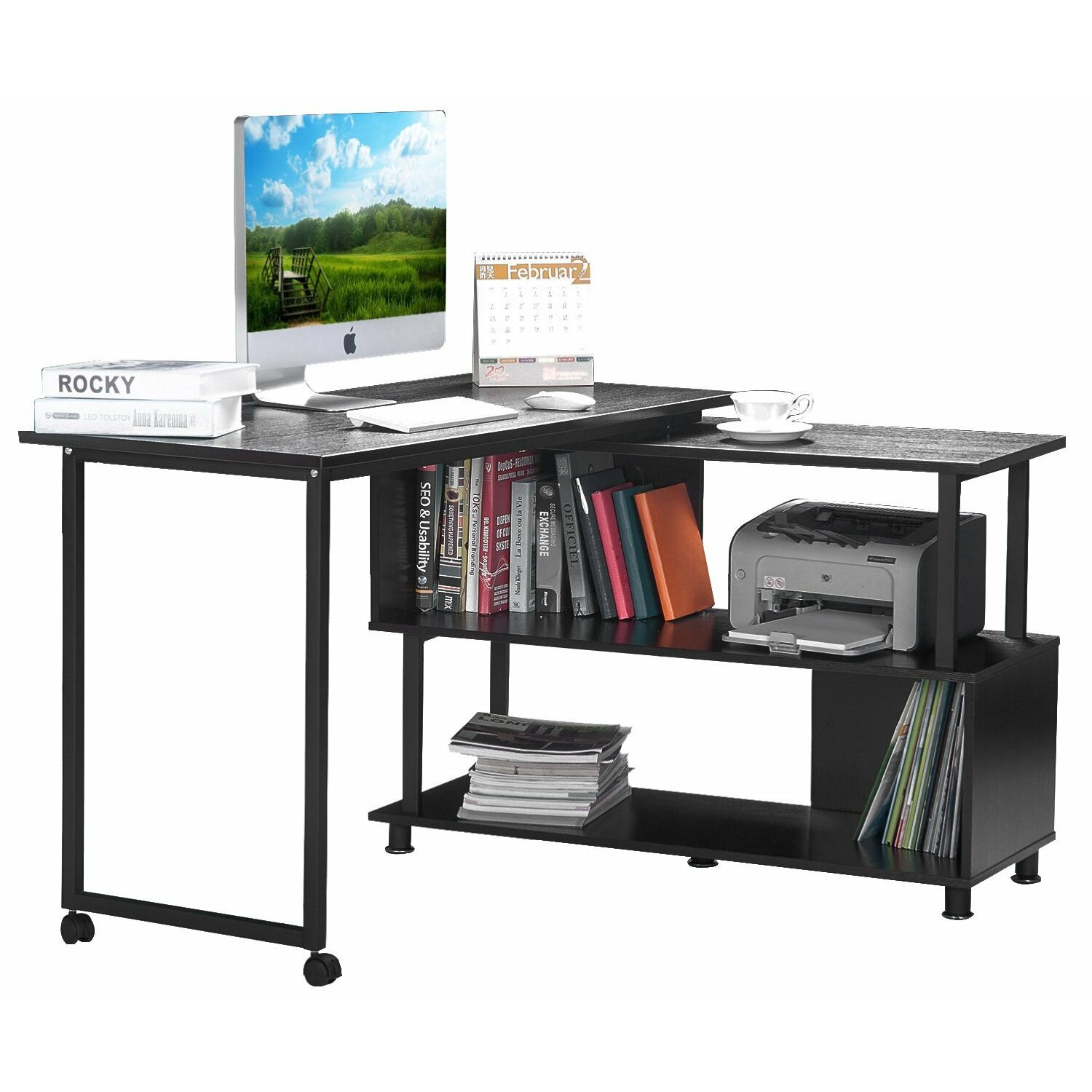 Merax puter Desk & Reviews