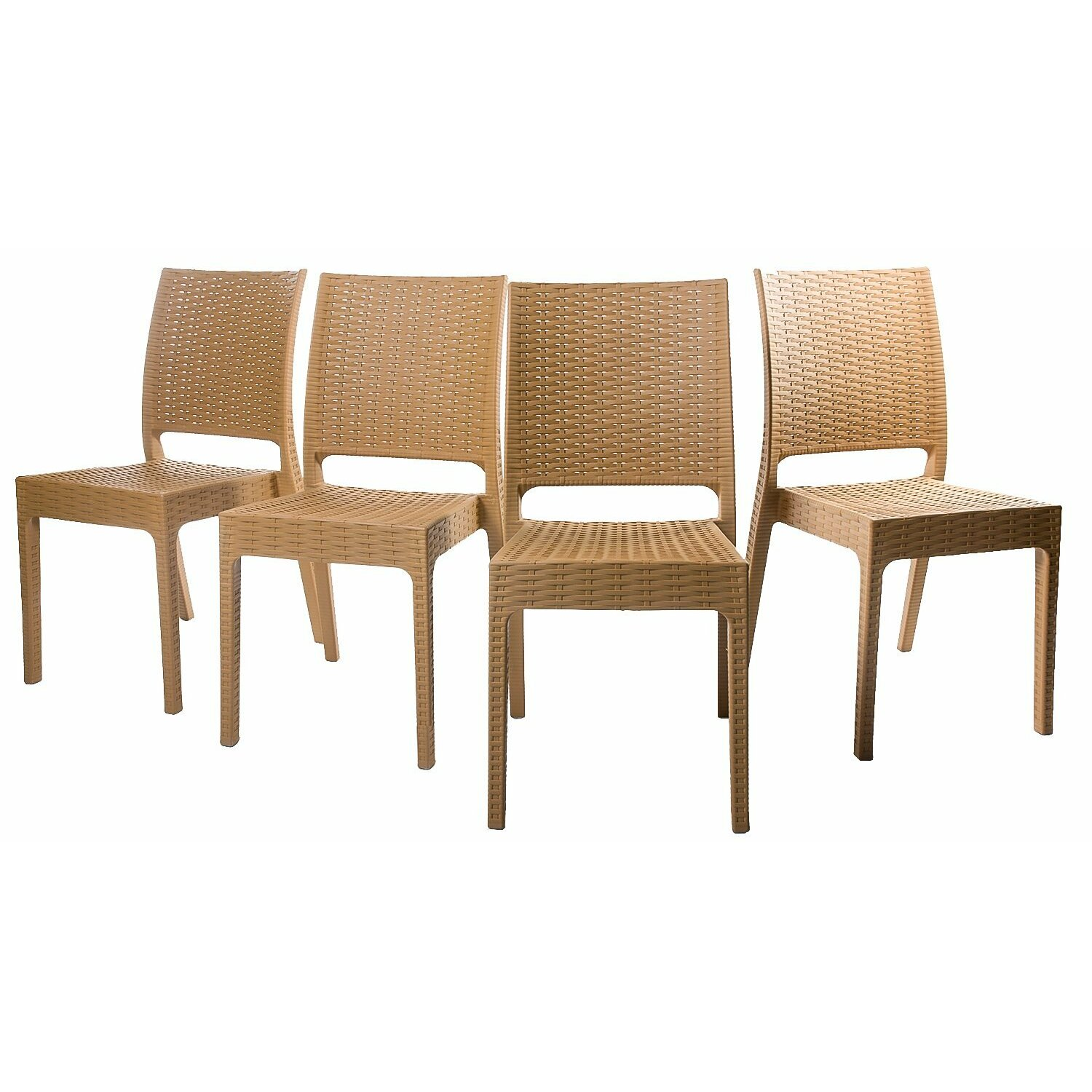 Merax dining side chair reviews wayfair for Outdoor dining furniture