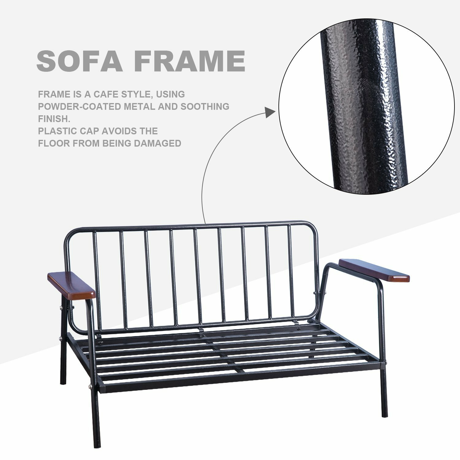 Merax futon and mattress wayfair Steel frame sofa