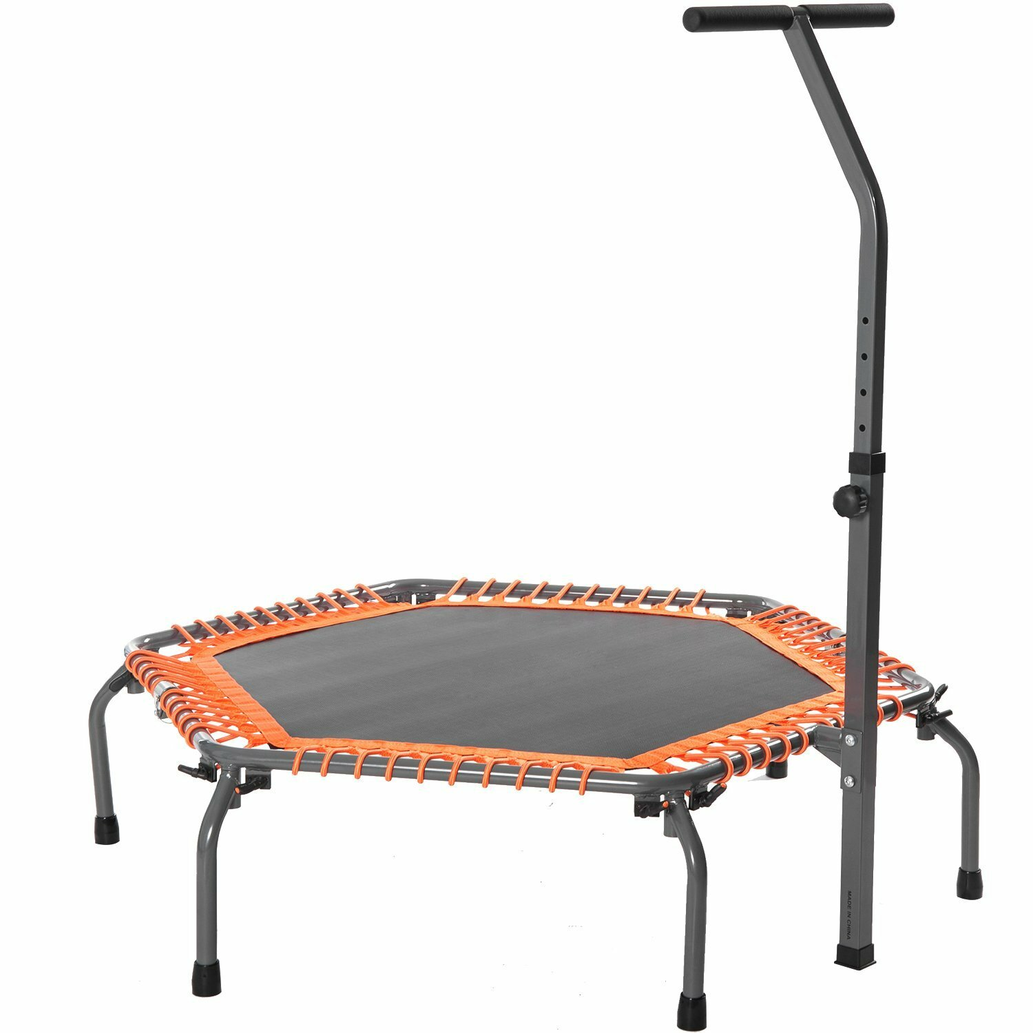 Merax 4.5' Exercise Fitness Trampoline with Safety Enclosure | Wayfair