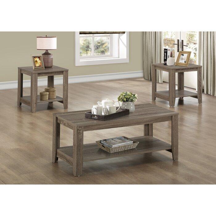Coffee Table Sets At Wayfair: Monarch Specialties Inc. 3 Piece Coffee Table Set