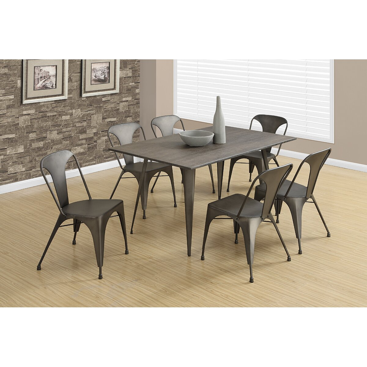 Monarch Specialties White Dining Set With Round Dining: Monarch Specialties Inc. Dining Table & Reviews