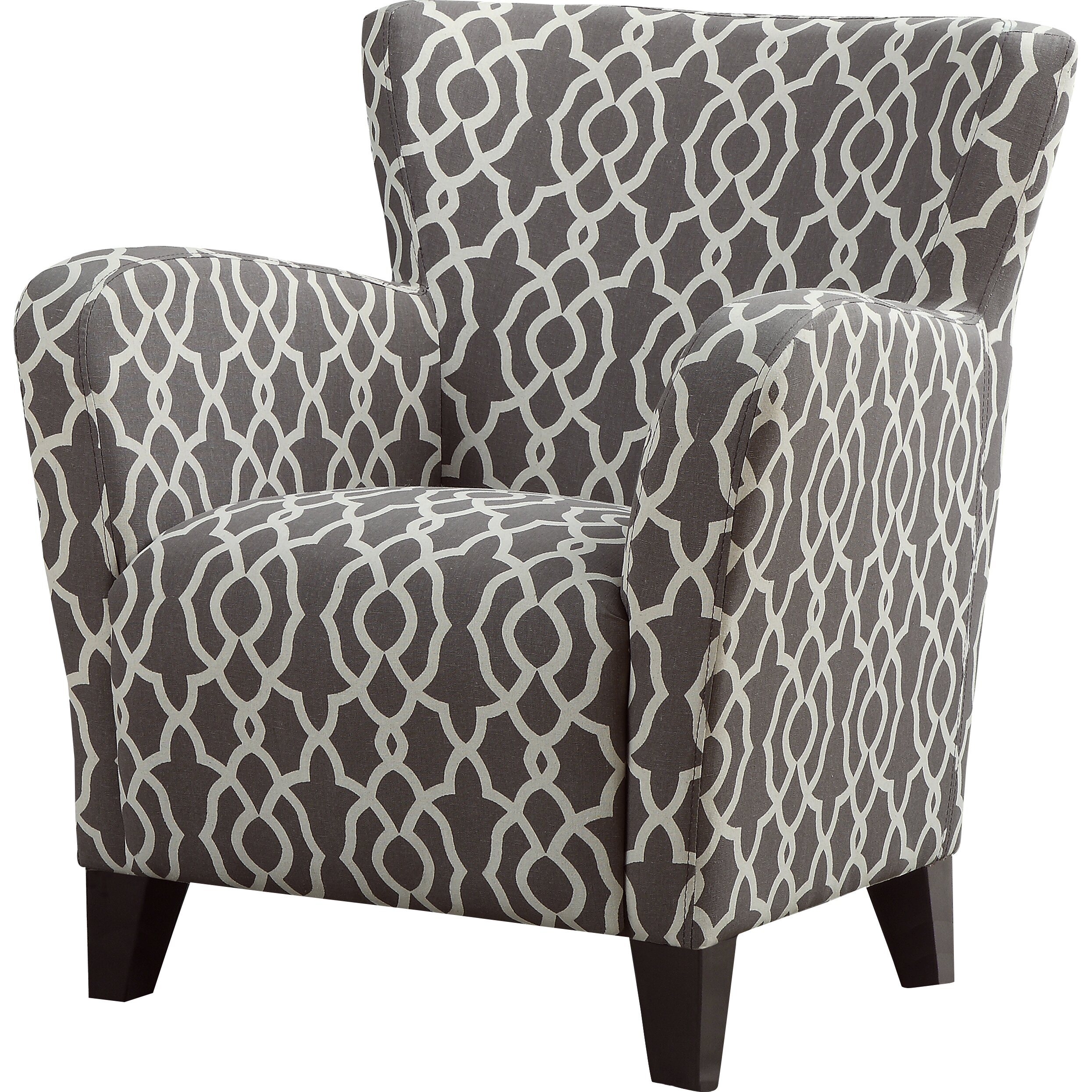 Monarch Specialties Inc I 8058 Fabric Accent Chair: Monarch Specialties Inc. Bell Arm Chair & Reviews
