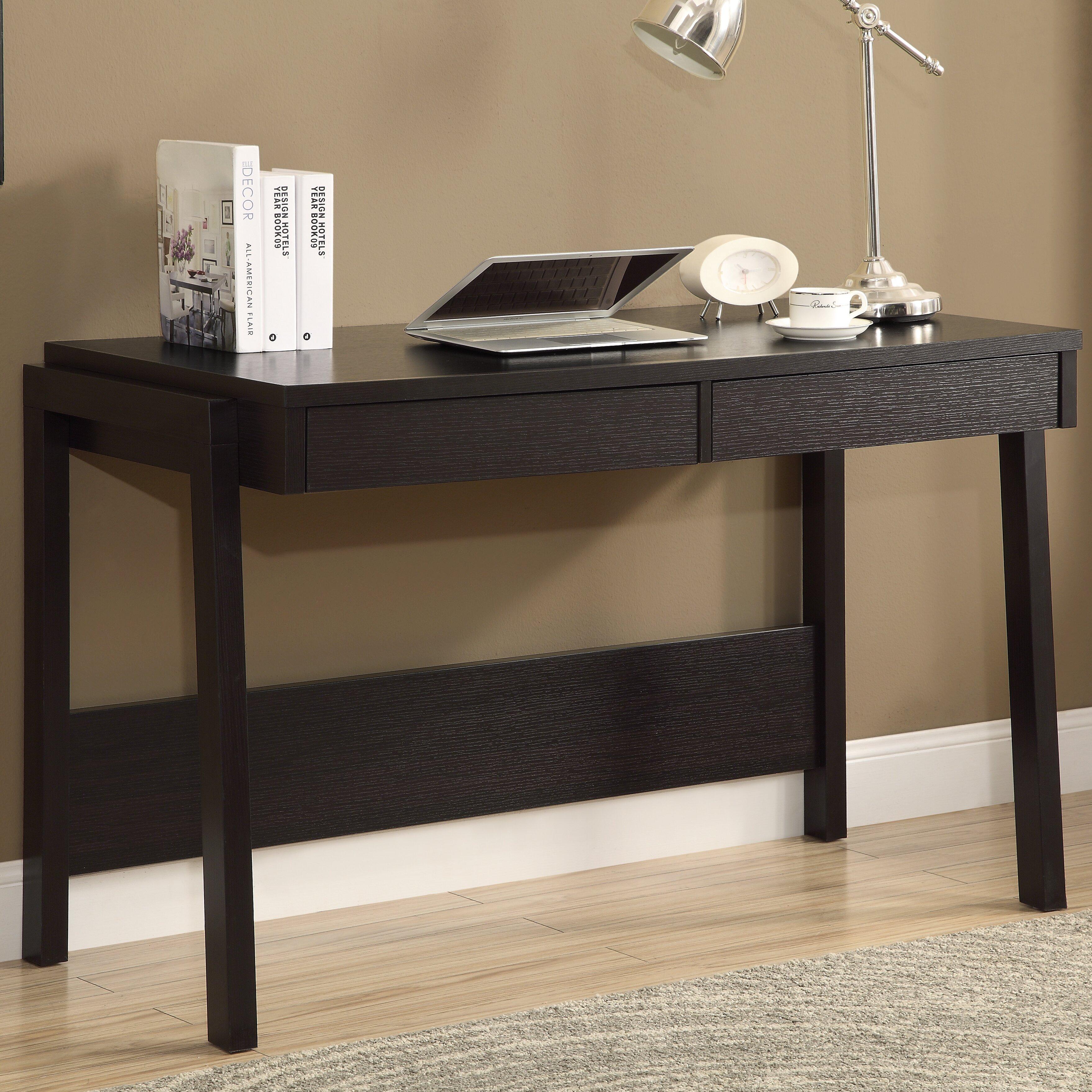 Monarch Specialties Inc Writing Desk With 2 Storage