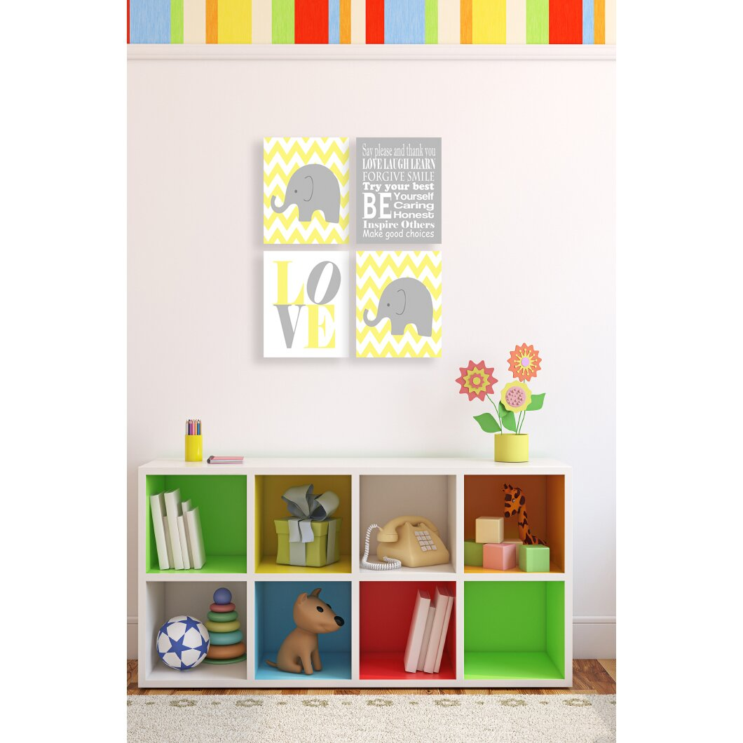 The Kids Room By Stupell Elephant