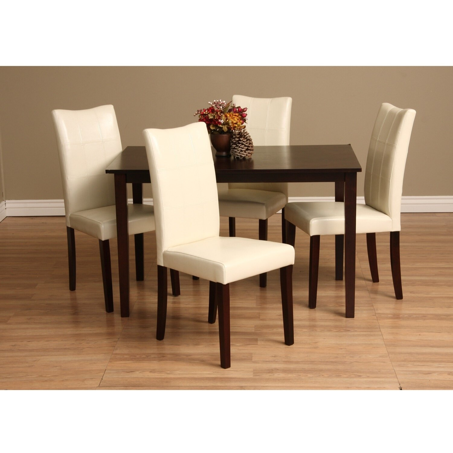 Warehouse of tiffany eveleen 5 piece dining set reviews for 5 piece dining set