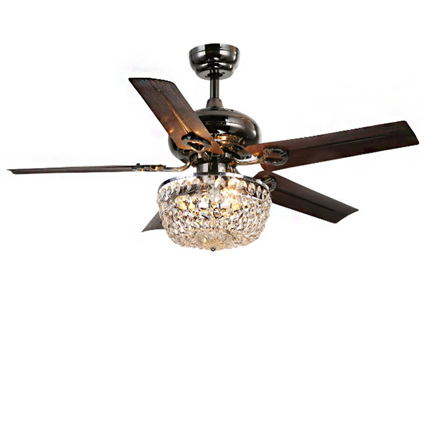 Warehouse Of Tiffany 3 Light Bowl Ceiling Fan Light Fitter