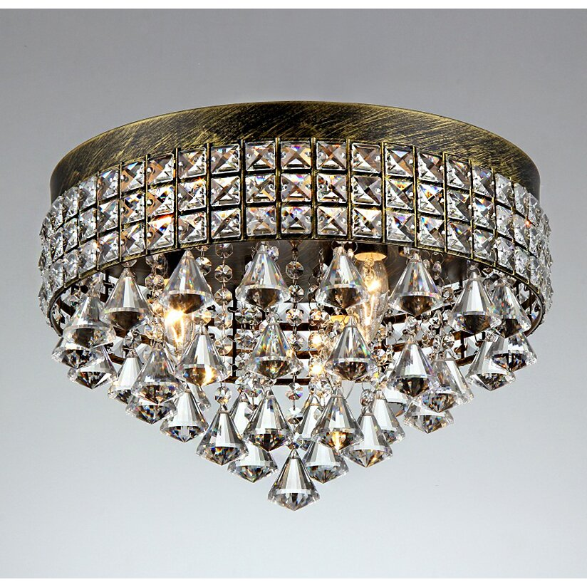Warehouse Of Tiffany Melly Crystal Chandelier Reviews