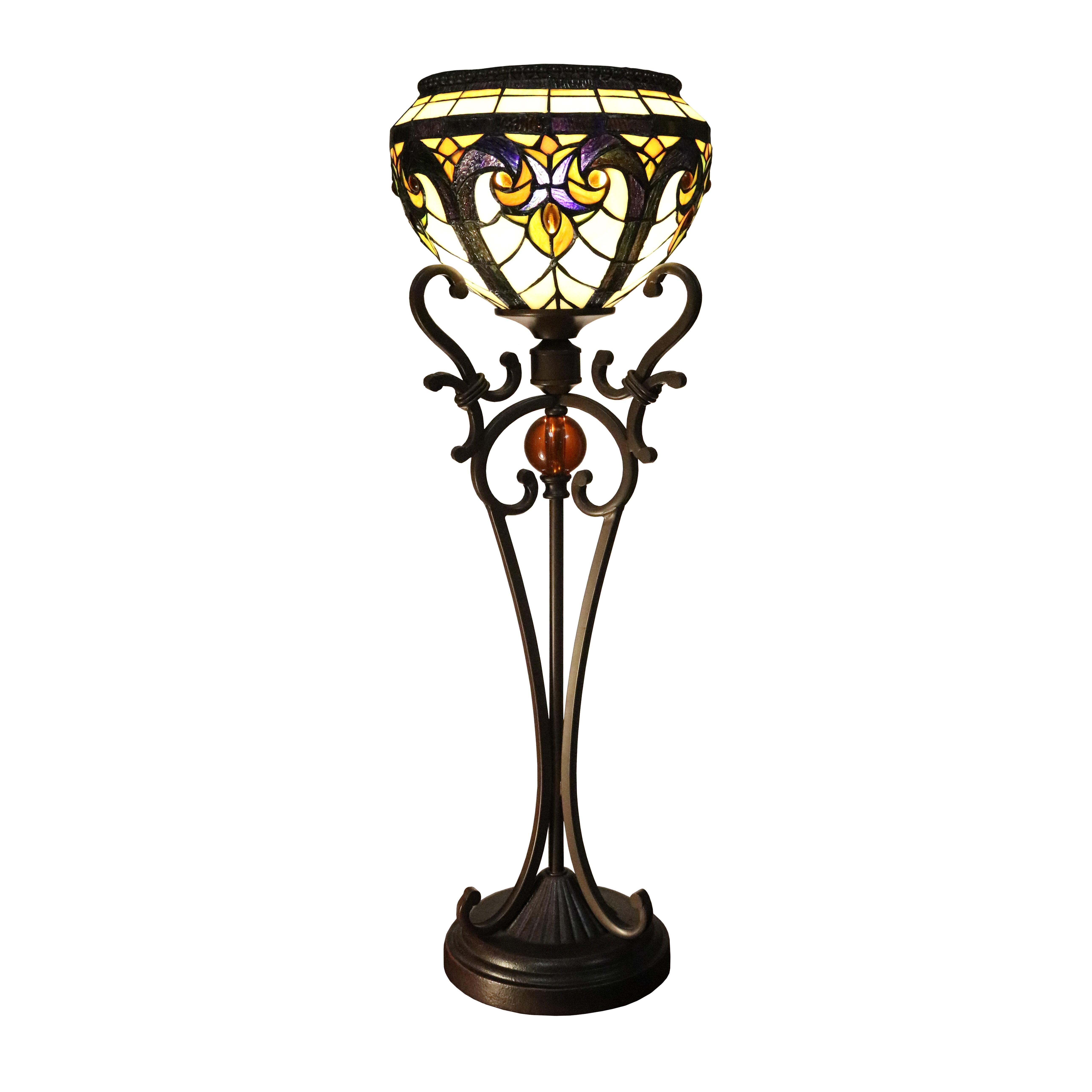 Warehouse of tiffany victorian 27 table lamp Warehouse of tiffany
