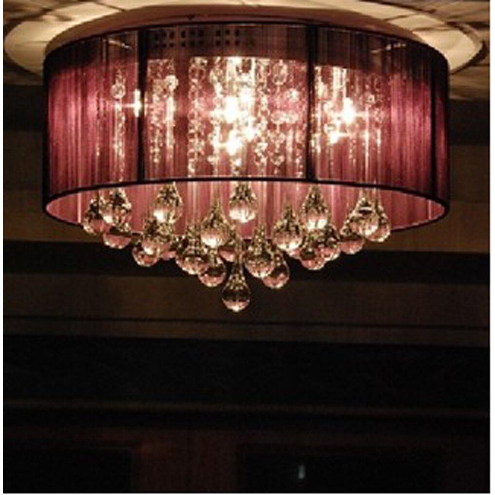 Warehouse of tiffany erinyes 3 light crystal chandelier Warehouse of tiffany