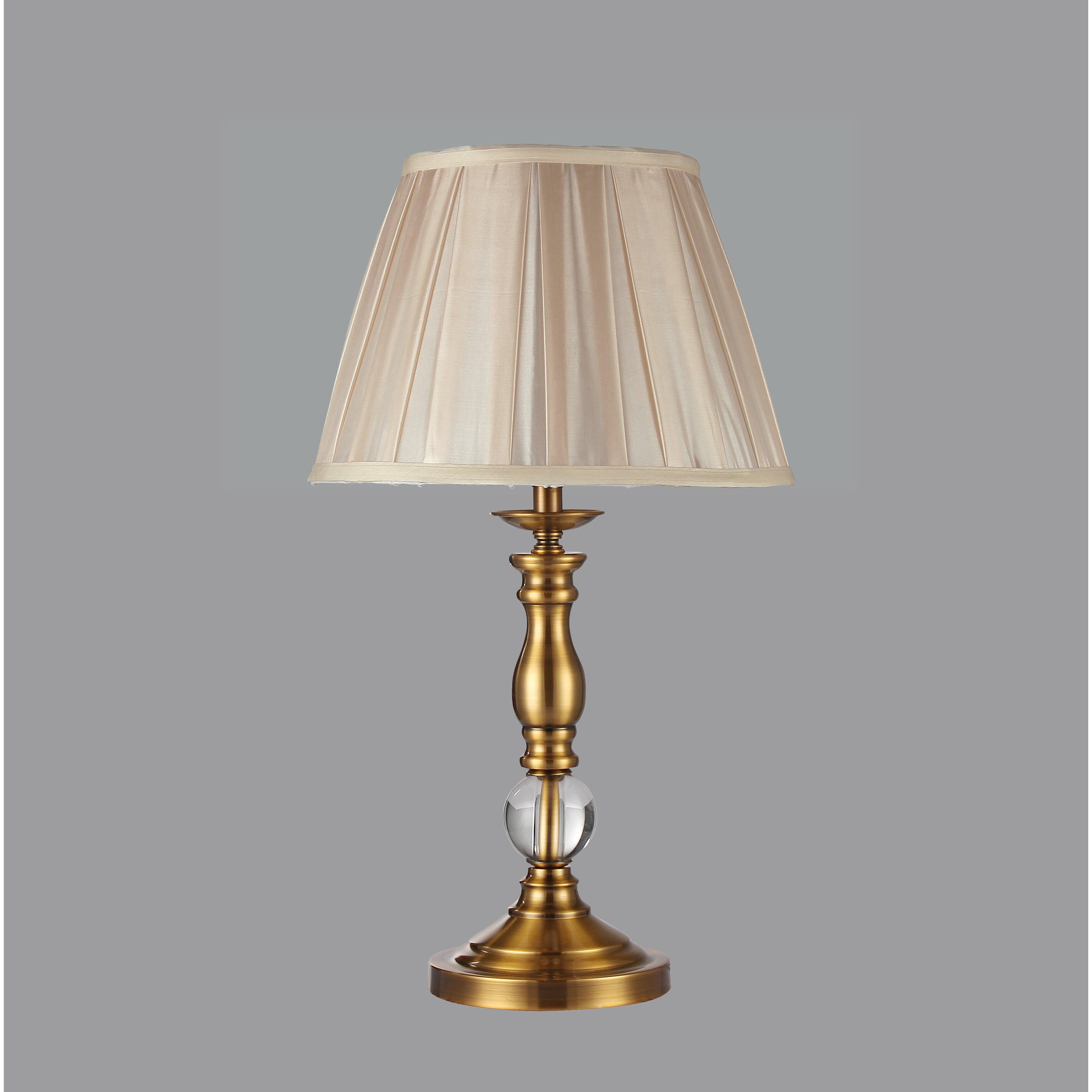 warehouse of tiffany fabianne 20 table lamp wayfair. Black Bedroom Furniture Sets. Home Design Ideas
