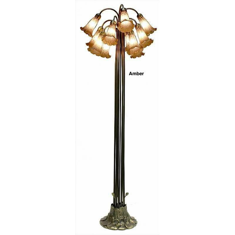 """Warehouse Of Tiffany Lily 60"""" Tree Floor Lamp"""