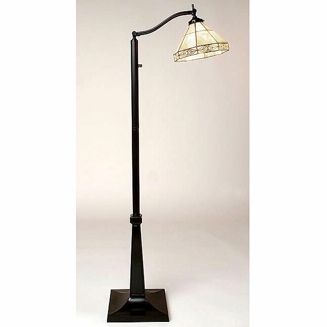 Warehouse of tiffany mission 58 task floor lamp reviews for Reading floor lamp reviews