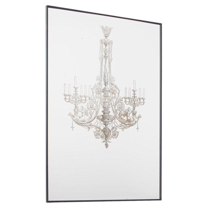 a b home 3 piece chandelier wall d cor set reviews wayfair. Black Bedroom Furniture Sets. Home Design Ideas